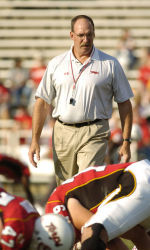 Terps' Strength Coach Galt Honored at CSCCa Conference