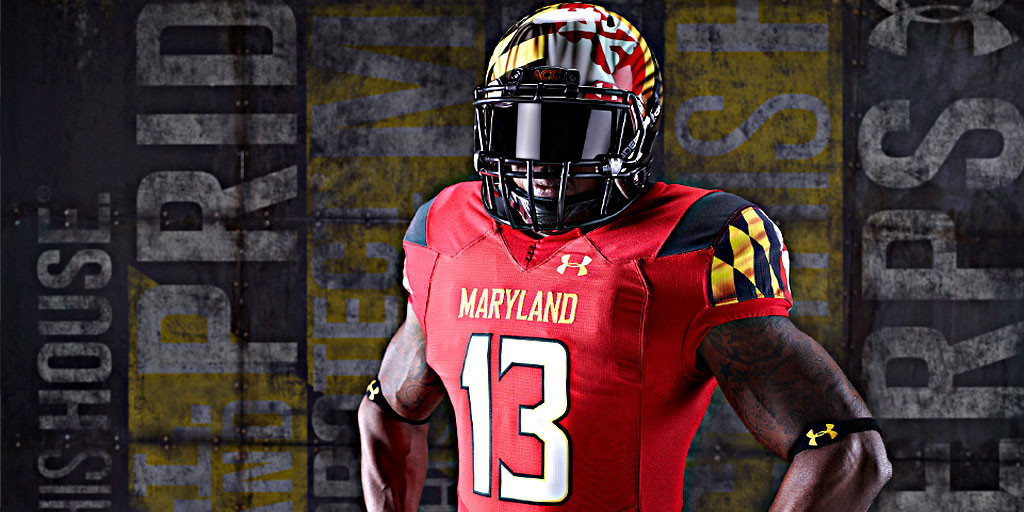 5d1d66cc08d Under Armour Unveils Maryland Pride 2.0 - University of Maryland ...