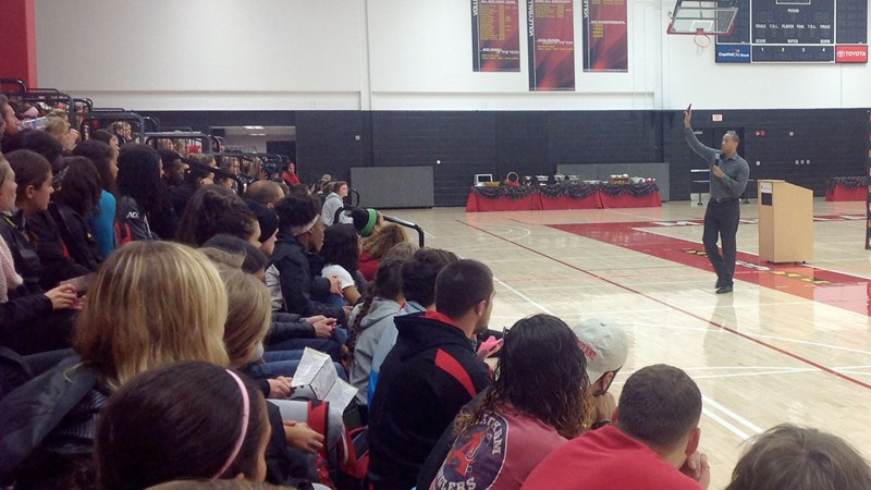 McPherson Speaks To Student-Athletes On Social Issues - Maryland, University of