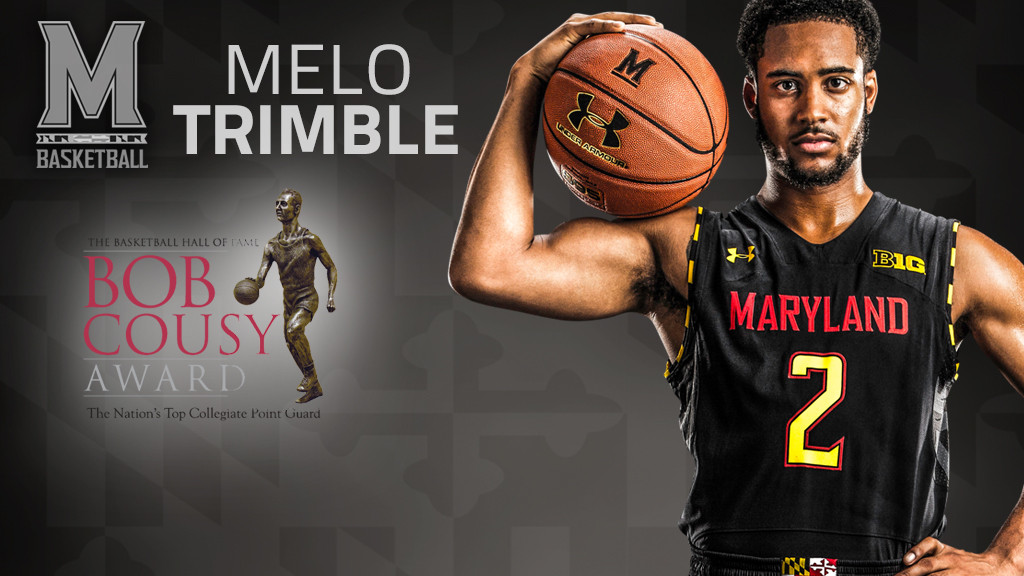 best loved a8f7c 3b4a7 Trimble Named to Bob Cousy Watch List - University of ...